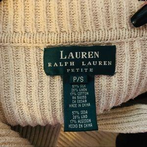VTG Lauren Ralph Lauren fishermen cardigan sweater